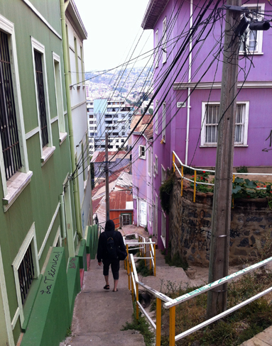 A one minute funicular can cut a 20 minute uphill or 10 minute downhill stair climb out of your day, but I still recommend the stairs in most cases.