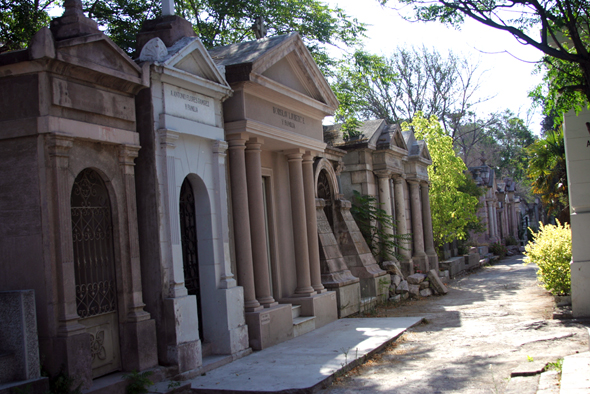 Santiago Cemetary Crypts