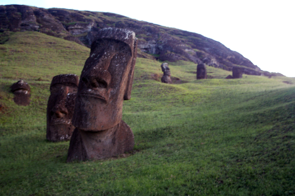 Rano Raraku at Dawn